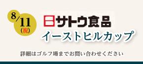 サトウ食品 イーストヒルカップ8月11日(金・祝)